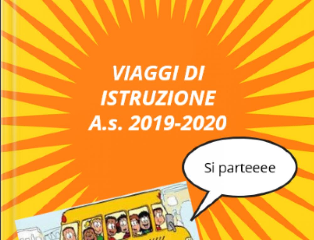GUIDA AI VIAGGI DI ISTRUZIONE AS 2019_2020 I nostri viaggi virtuali