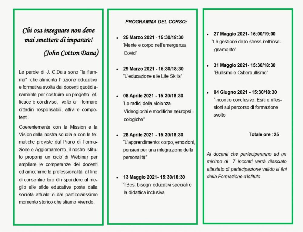CORSO DI FORMAZIONE DOCENTE-2